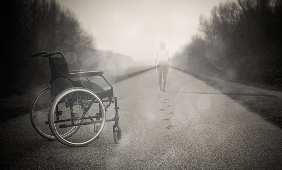 God in a wheelchair: Disability meets spirituality