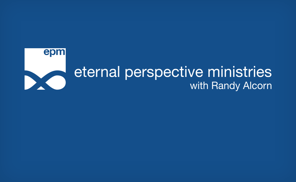 Why Do You Emphasize Eternity in Your Writing and Ministry?