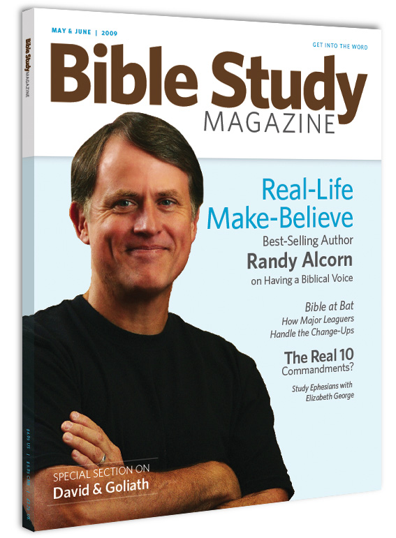 Bible Study Magazine cover