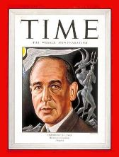 C.S. Lewis on the cover of Time Magazine