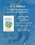 Money, Possessions and Eternity promotional materials
