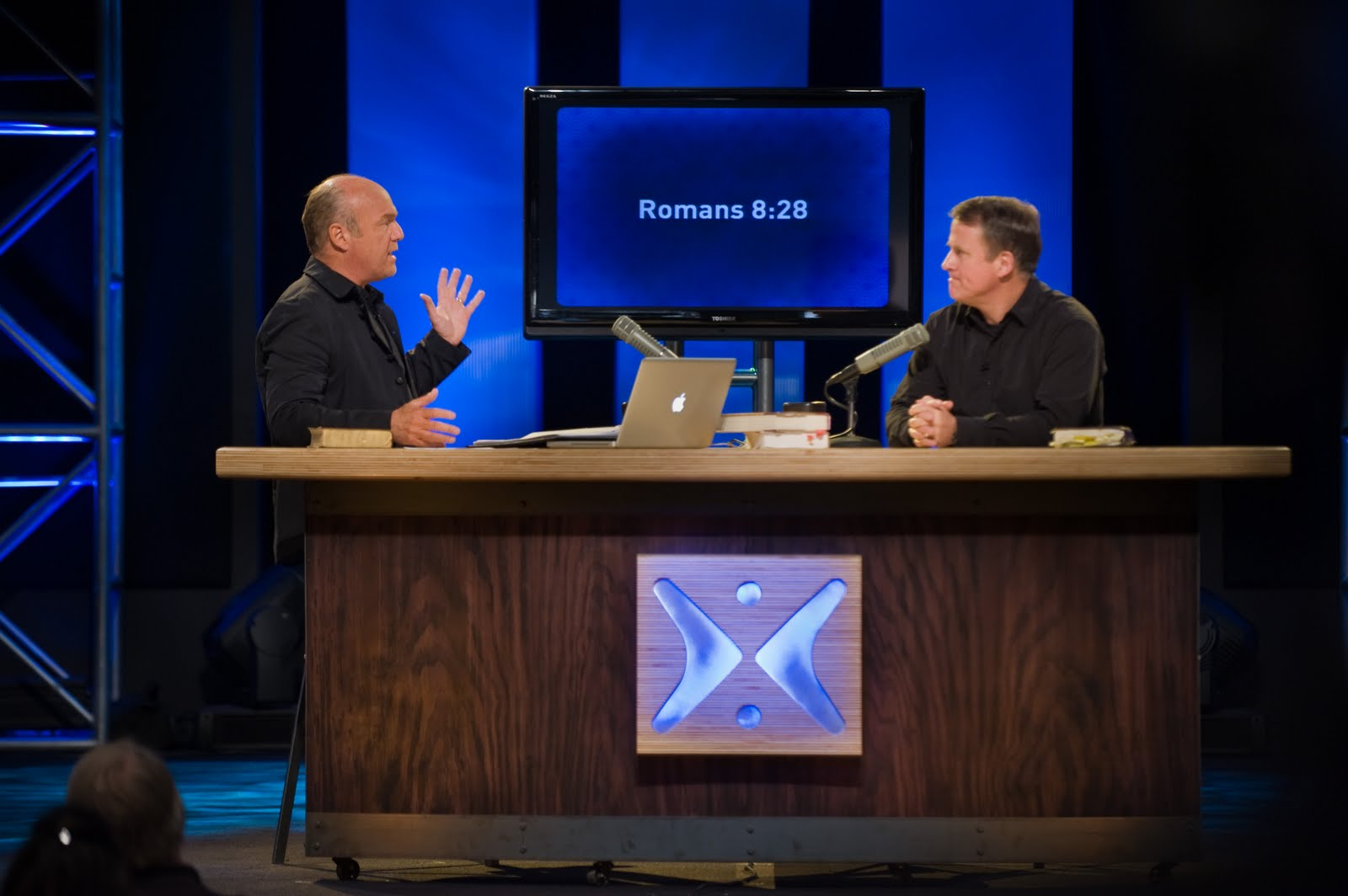 Randy Alcorn and Greg Laurie