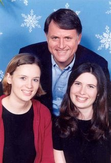 Randy Alcorn with daughters Angela and Karina