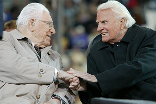 George Beverly Shea and Billy Graham