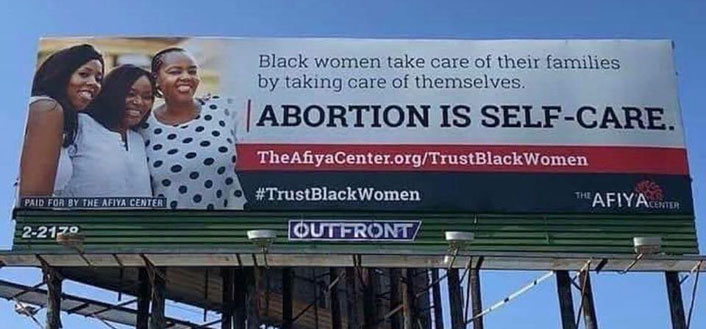 Abortion billboard