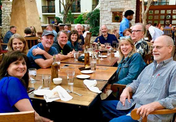 Friends before the ACFW Conference