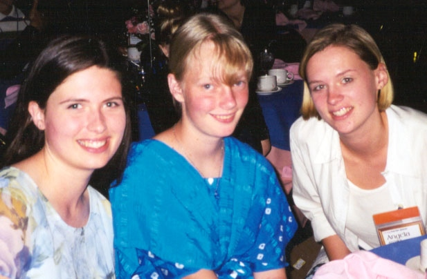Karina Alcorn, Esther Staines, Angela Alcorn