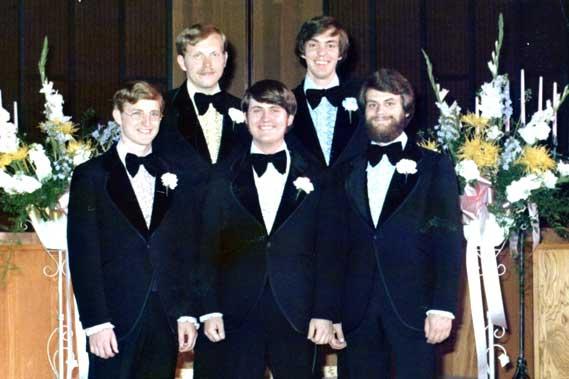 Alcorn wedding groomsmen