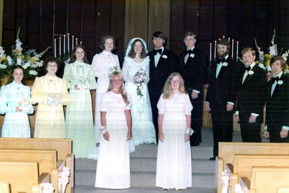 Alcorn wedding party