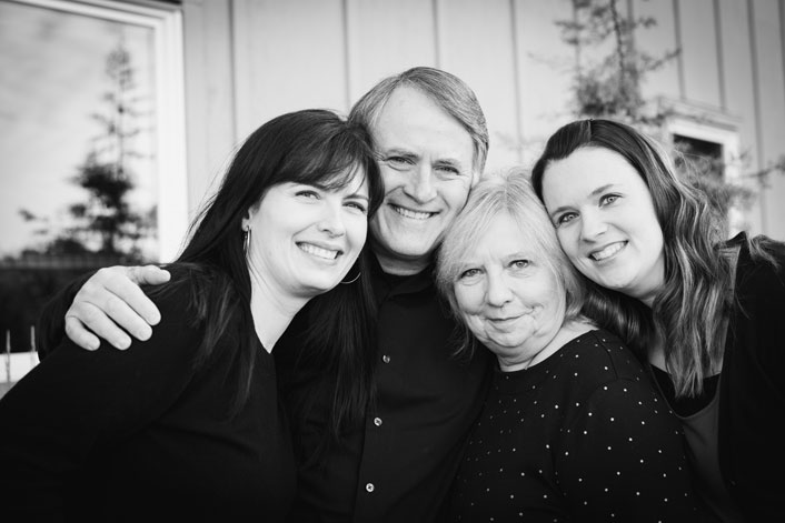 Karina, Randy, Nanci, and Angela
