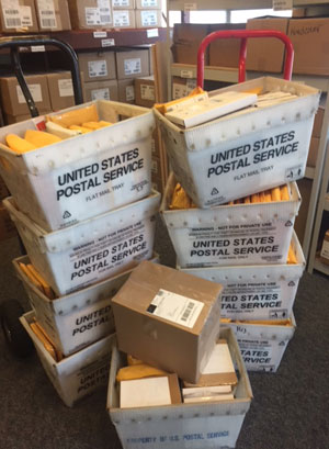 Books being mailed for prisoners