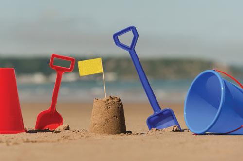 Bucket, Beach