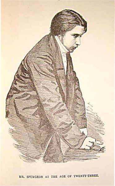 Young Charles Spurgeon