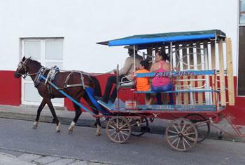 Horse Drawn Taxi