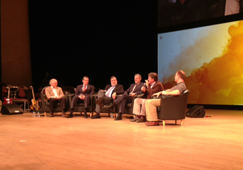 Panel discussion at Desiring God National Conference