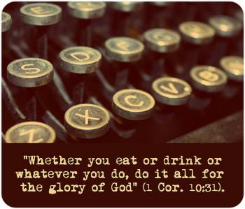 1 Cor. 10:31