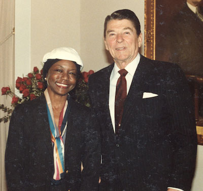 Dr. Jefferson and Ronald Reagan