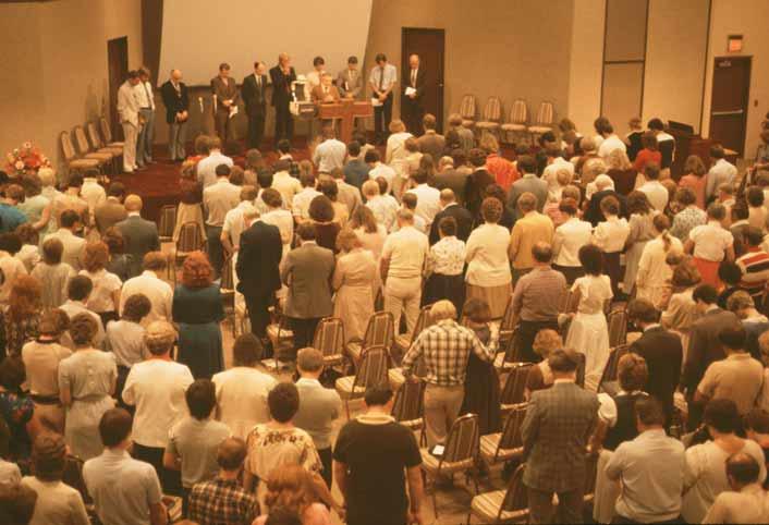 Elders on stage