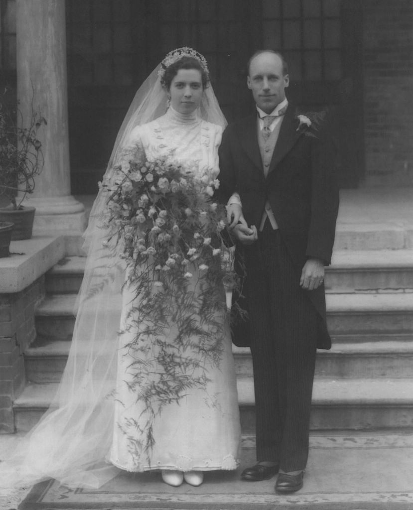 Eric and his bride, Florence MacKenzie