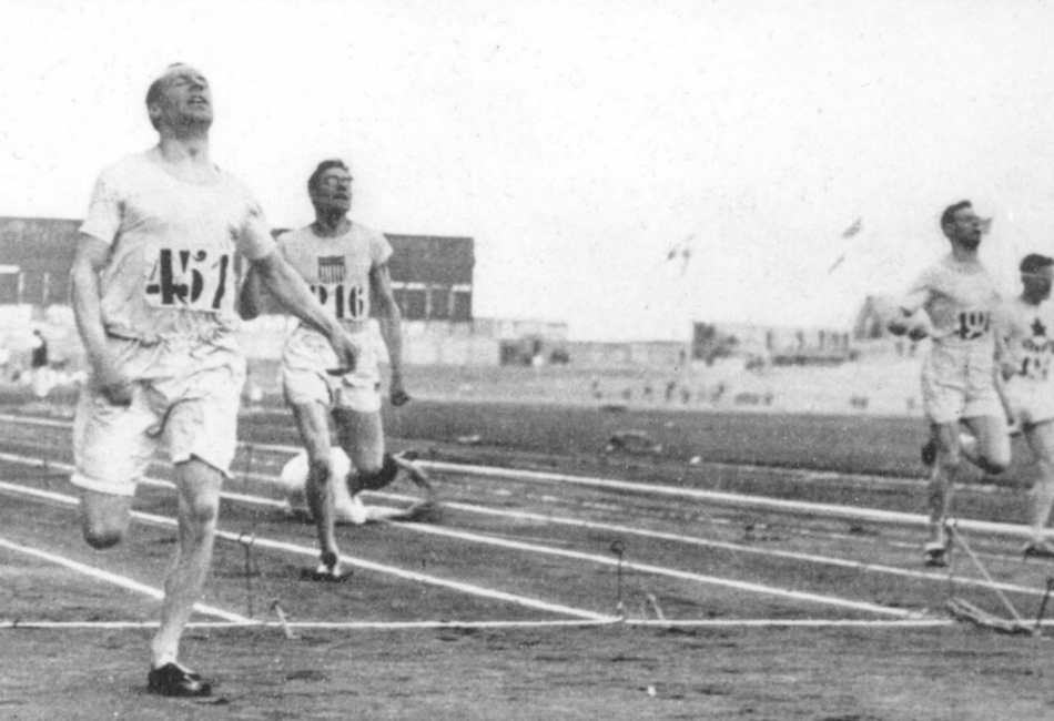 Eric Liddell at the Paris Olympics