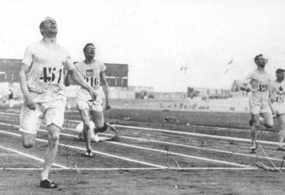 Eric Liddell at the Paris Olympics