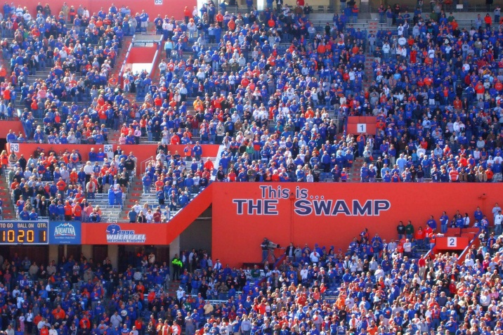 Gators crowd