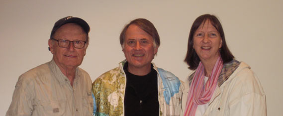 George Verwer, Randy Alcorn, and Karen Coleman