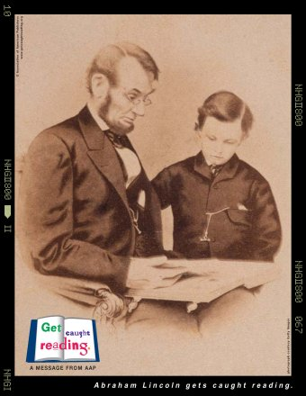"""""""Get Caught Reading"""": Abraham Lincoln"""