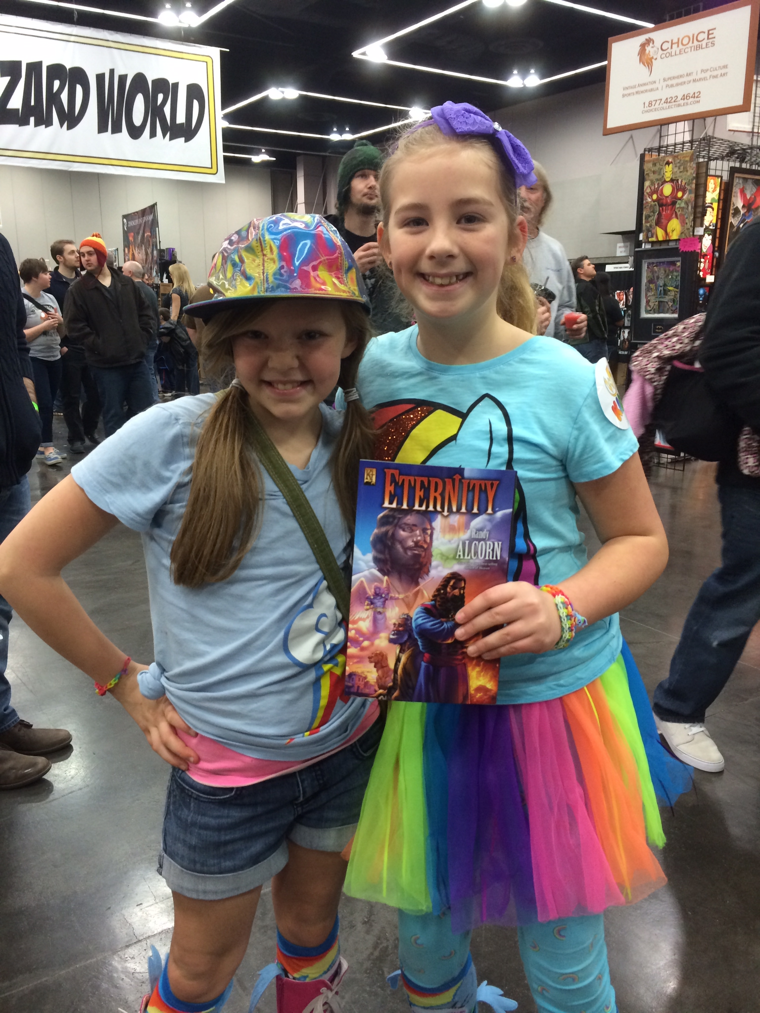 Young readers with Randy Alcorn's Eternity graphic novel