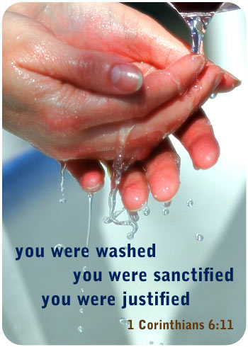 You were washed