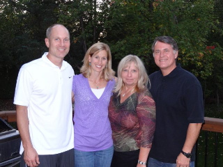 Jason and Kathleen Hanson, and Nanci and Randy Alcorn