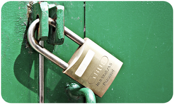 Padlock security / What about life insurance?