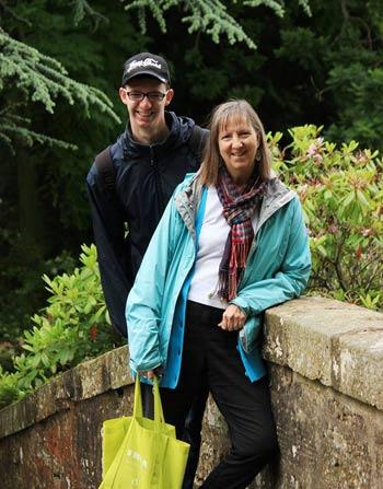 Karen and son Noah
