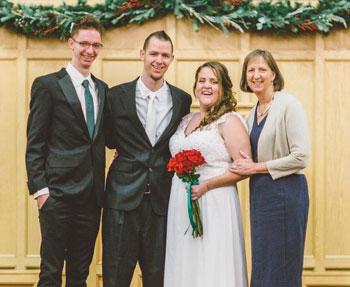 Noah, Zac, Hannah, and Karen