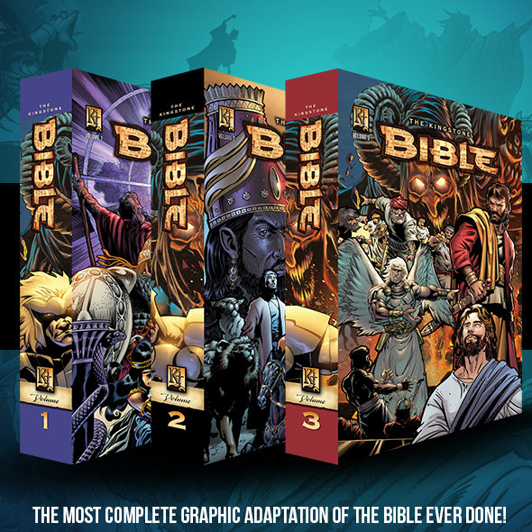 Media Tie In Graphic Novels: The New Kingstone Bible, The Most Complete Graphic Novel