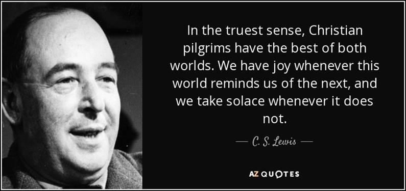 C. S. Lewis misquote