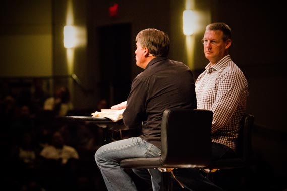Randy Alcorn and Todd Wagner at Linger 2017