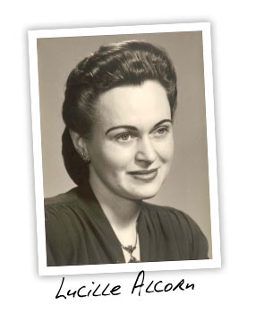 Lucille Alcorn, Randy's mother