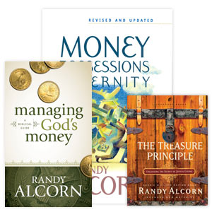Randy's books on stewardship and giving