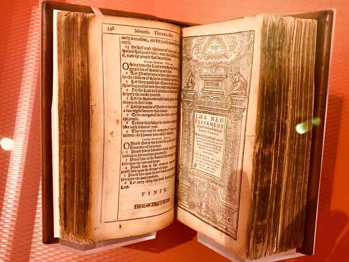 Bible at the Museum