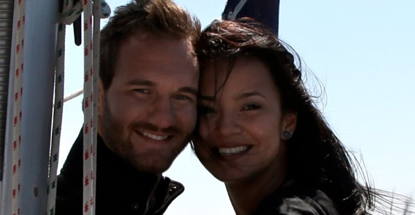 Nick Vujicic and his wife