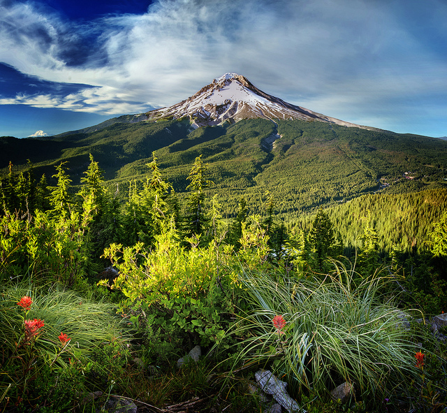 Oregon, Mt Hood / photo credit: bretvogel via photopin cc