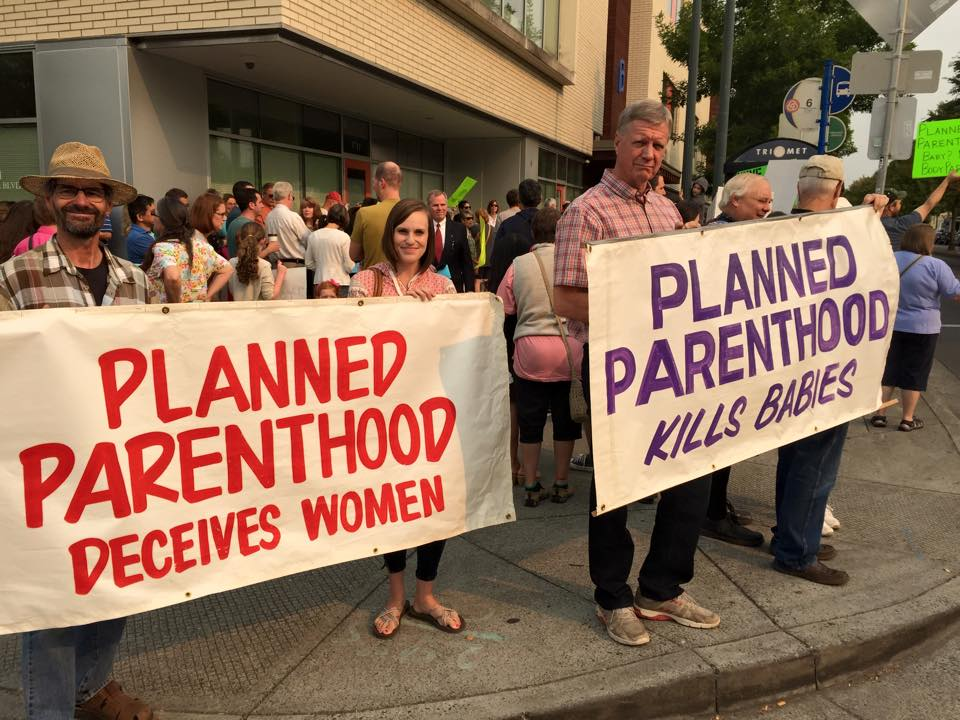 Planned Parenthood Portland Rally