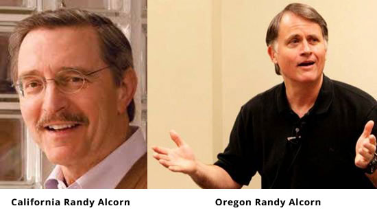 Randy Alcorn and Randy Alcorn