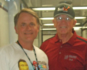 Randy Alcorn and Joe Gibbs