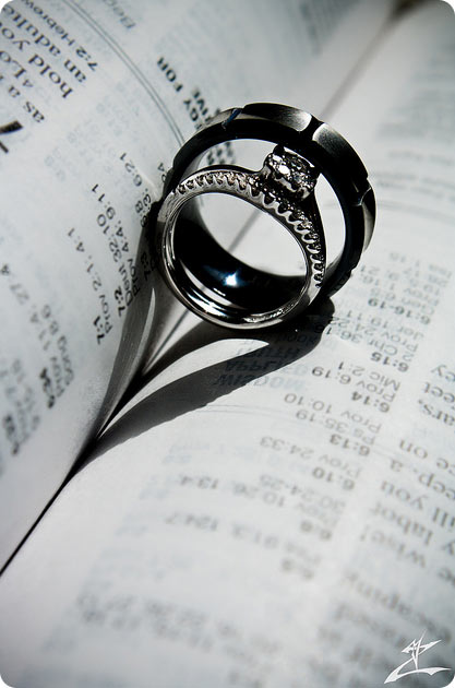 Marriage rings in Bible