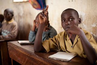 Rwandan student