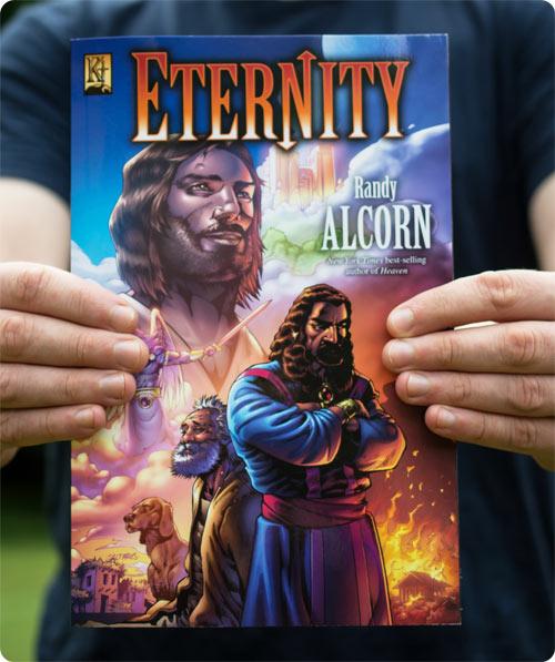 Sharing Randy's Eternity graphic novel