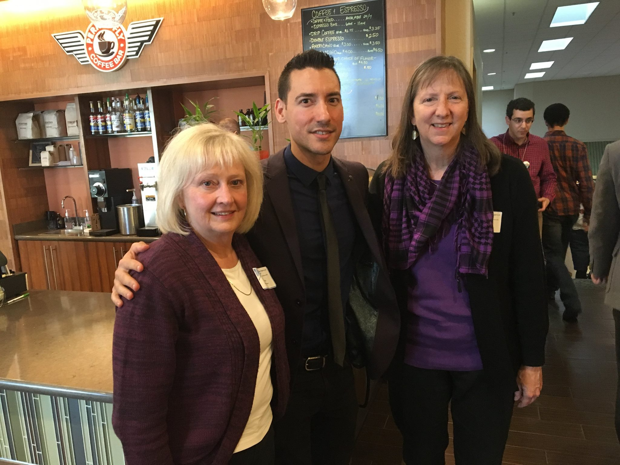 Eternal Perspective Ministries staff members with David Daleiden