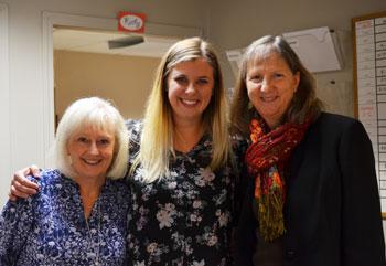 Sharon, Shauna, and Karen